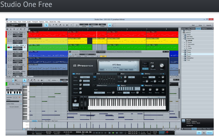 Top Free Music Software Recording Programs Daw