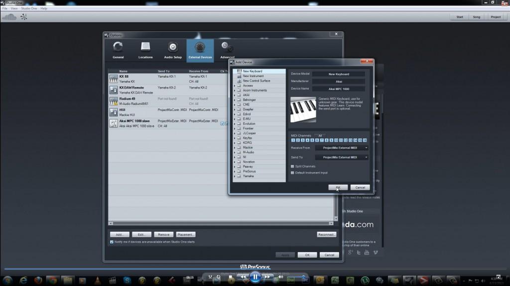 PreSonus-Studio-One-Setting-MPC-MIDI-Controller